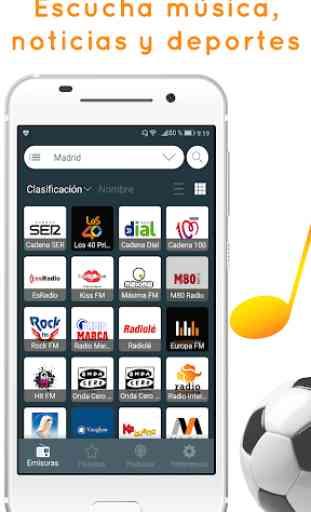 Radio España: escucha Radio Online y Radio FM 1