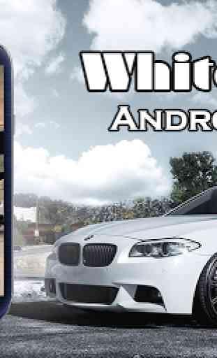 White BMW Theme 1