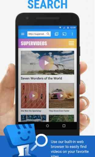 Web Video Cast | Navegador para TV/Chromecast/Roku 1