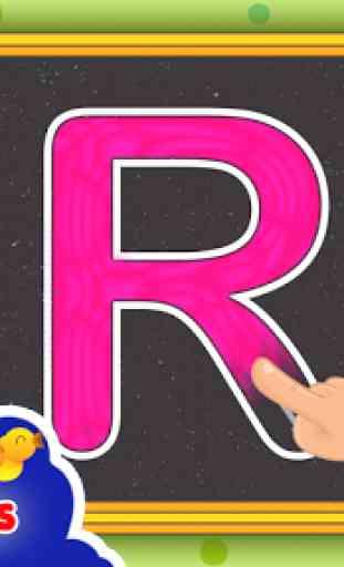 abc Niños aprender alfabeto 3