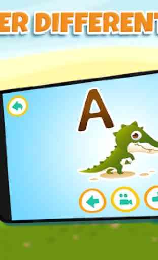 Aprender letras para niños 2