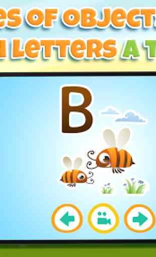 Aprender letras para niños 3