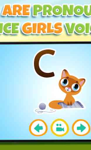 Aprender letras para niños 4