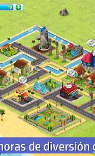 Ciudad Aldea: Sim de la Isla 2 Village City Island 2