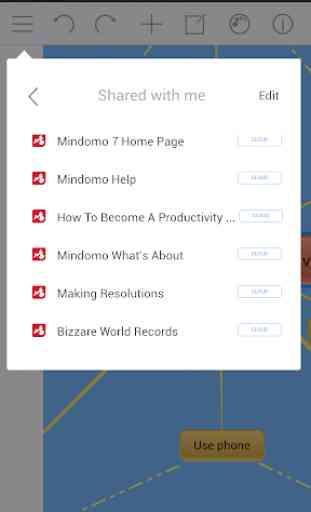 Mindomo (mind mapping) 2