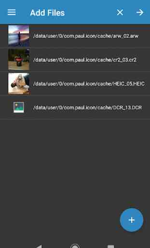 Convertidor de imagen : JPG PNG RAW CR2 NEF PSD 3