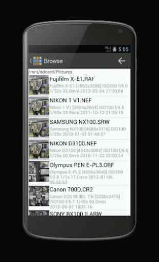 DCraw mobile 1