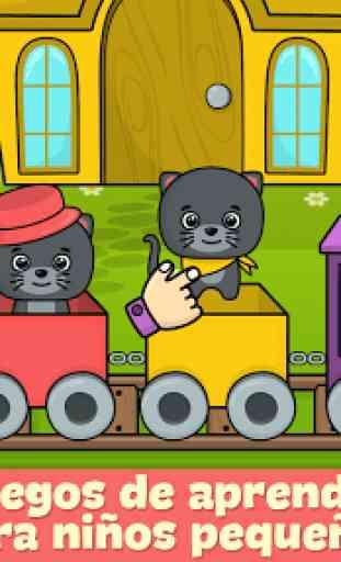 Juegos para niños de 2-5 años 1