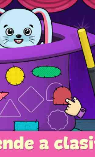 Juegos para niños de 2-5 años 2
