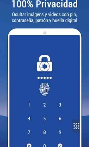 Ocultar imágenes y vídeos: LockMyPix Caja Privada 2