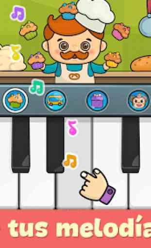 Piano para niños - juegos para bebés 1