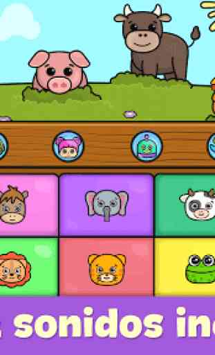 Piano para niños - juegos para bebés 3