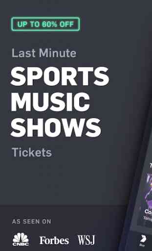 Gametime - Tickets to Sports, Concerts, Theater 1
