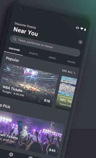 Gametime - Tickets to Sports, Concerts, Theater 2