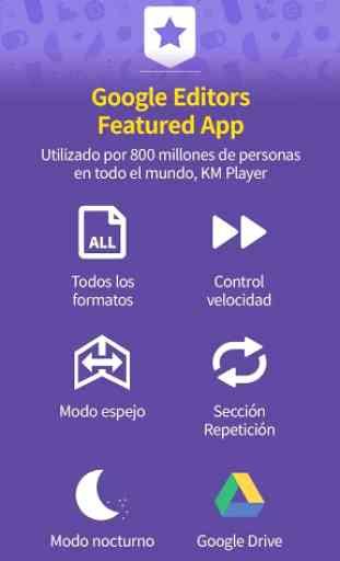 km player: reproductor de todos formatos y códecs 3