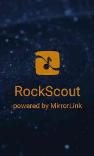 RockScout, by MirrorLink® 4