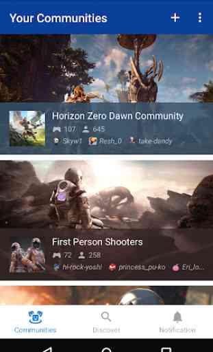 PlayStation Communities 1