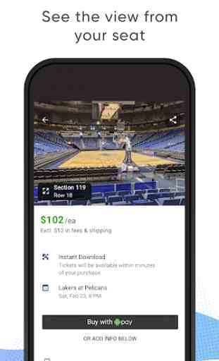 SeatGeek – Tickets to Sports, Concerts, Broadway 3
