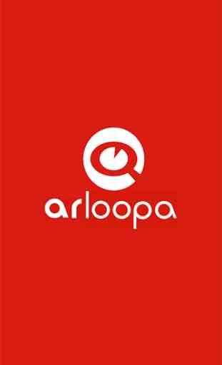 ARLOOPA - Plataforma de realidad aumentada - AR 1