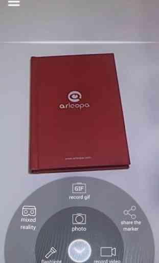ARLOOPA - Plataforma de realidad aumentada - AR 2