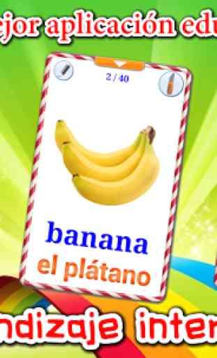 Aprender Frutas (Aprende idiomas) 1