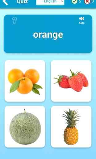 Aprender Frutas (Aprende idiomas) 3