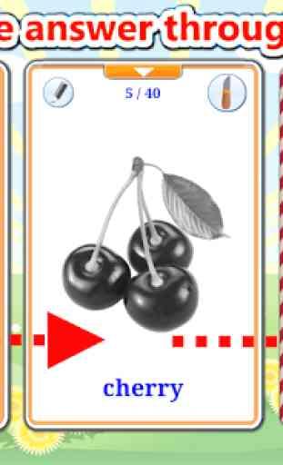 Aprender Frutas (Aprende idiomas) 4