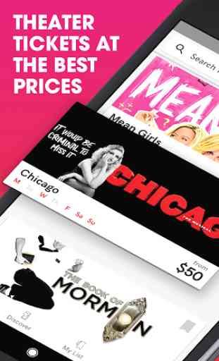 TodayTix – Theater Tickets 1
