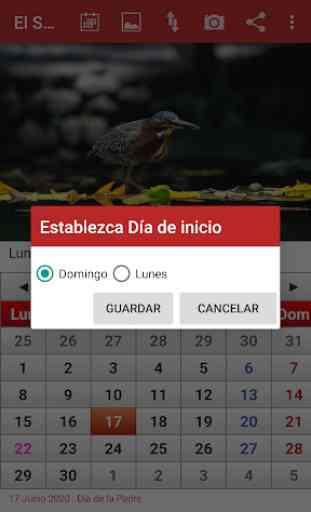 El Salvador Calendario 2020 3