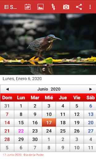 El Salvador Calendario 2020 4