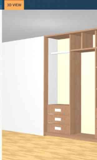 Utile closet 3D designer 2