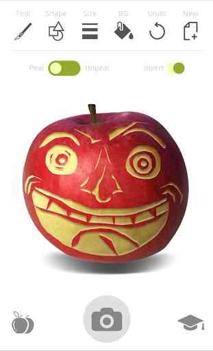 Fruta Dibujo: Verduras Sculpt 2