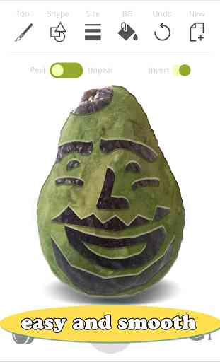 Fruta Dibujo: Verduras Sculpt 4