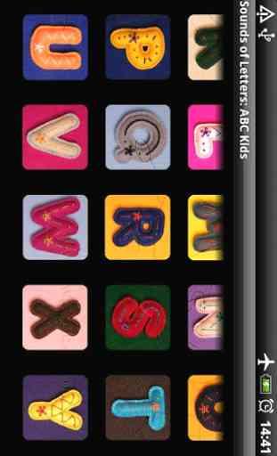 Sonidos de las letras alfabeto 3