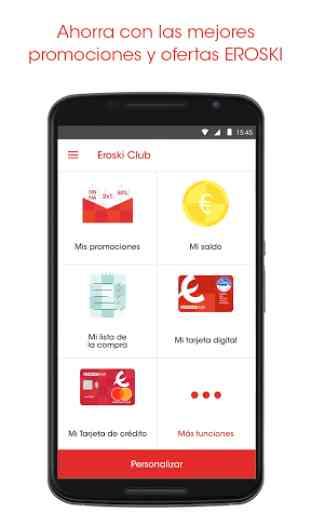 EROSKI - La APP de Eroski Club 1