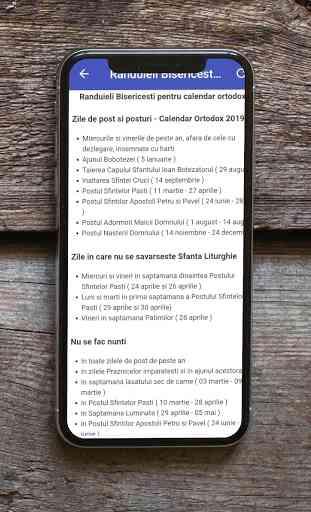 Calendar Creştin Ortodox 2020 4