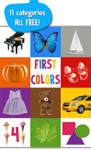 First Words for Baby: Colors 1