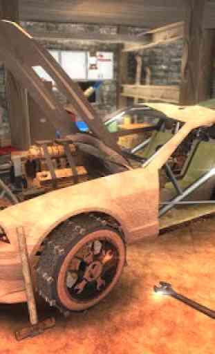 Reparar mi Auto: Mad Road FREE 2