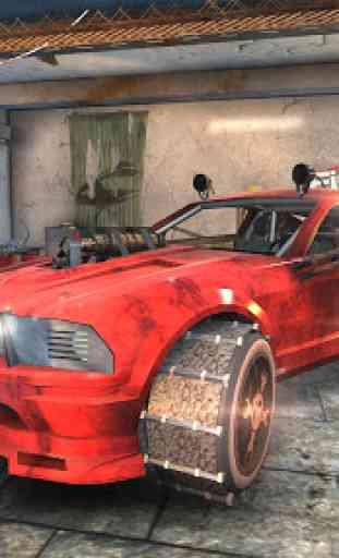Reparar mi Auto: Mad Road FREE 4