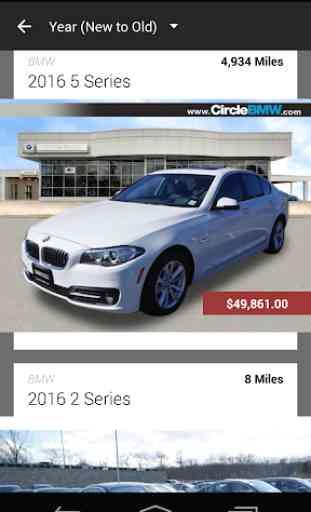 Circle BMW DealerApp 2