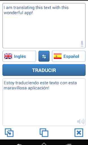 Traductor de idiomas 1