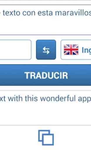Traductor de idiomas 4