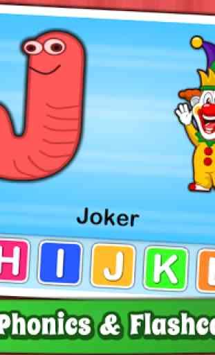 Aprende el alfabeto para niños - ABC English 2