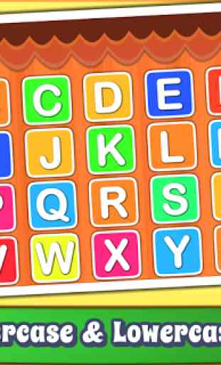 Aprende el alfabeto para niños - ABC English 3
