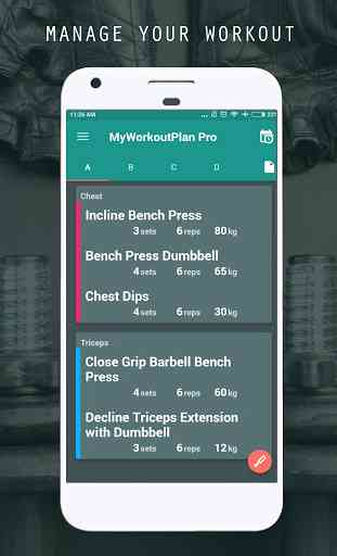 My Workout Plan - Daily Workout Planner 1