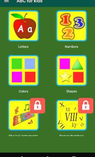 ABC Kids Learn Alphabet Game 1