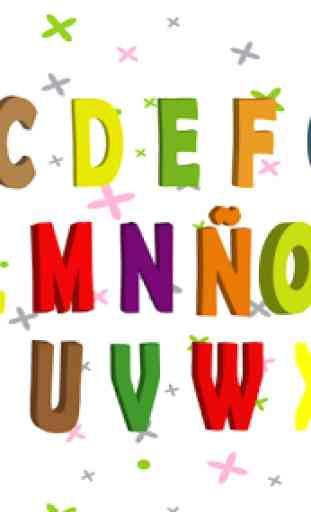 Escribir alfabeto 2