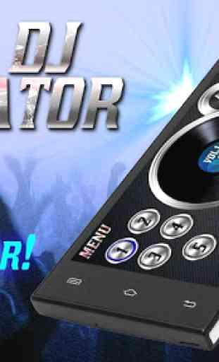 Simulador real Dj 1