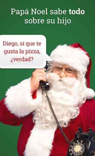 Mensaje de Papá Noel! (simulado) 2