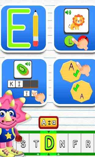 ABC Dinos: Aprender a leer para niños 4